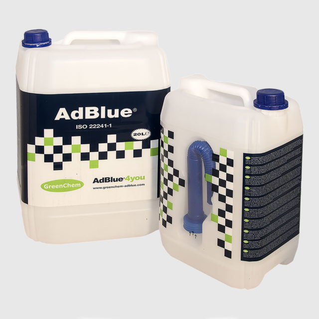 20 liter canister of GreenChem AdBlue